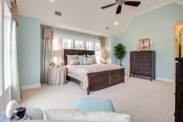 coastal master bedroom - Coastal Decorating Ideas