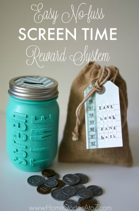 Easy No Fuss Screen Time Reward System