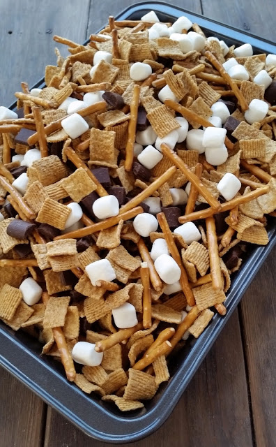 smores snack mix recipe