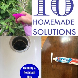 10 homemade solutions to everyday problems