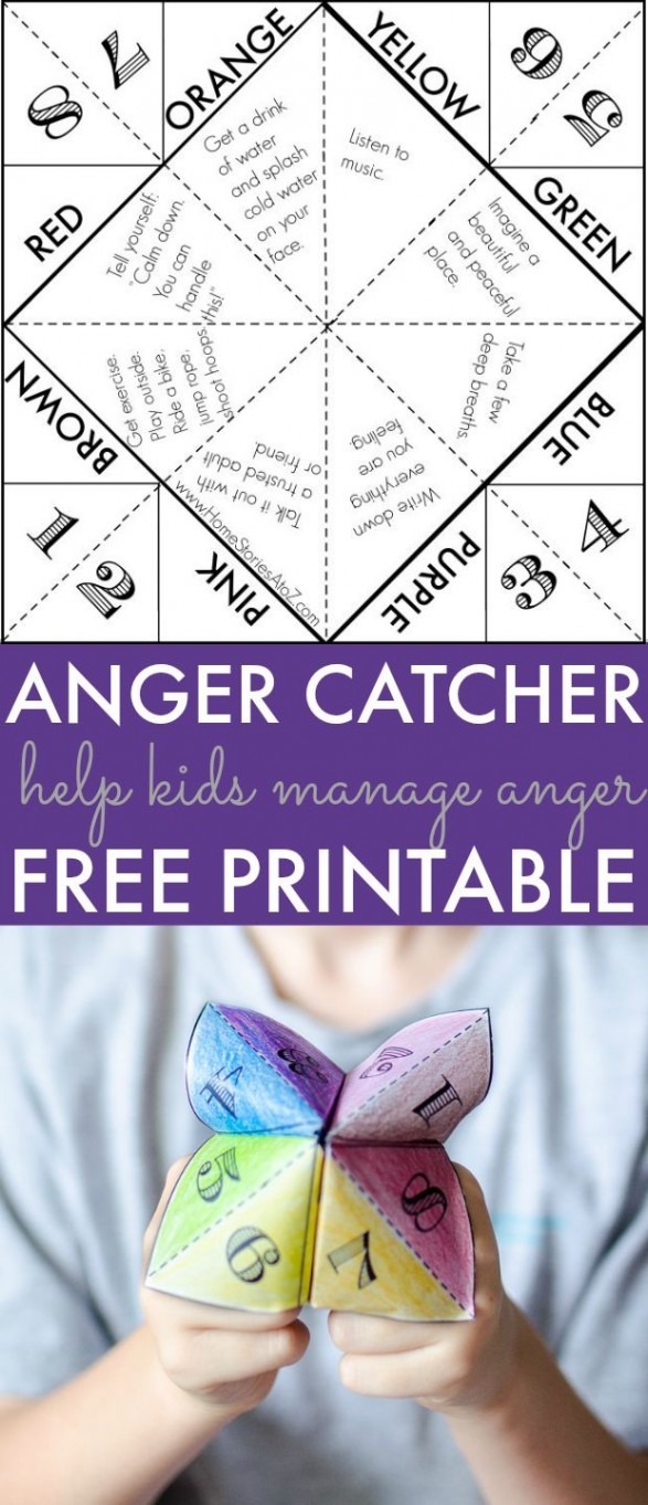 photo about Anger Management Quiz Printable identify Assistance Children Find the money for Anger: Totally free Printable Activity