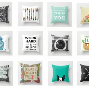 toss pillows for dorm