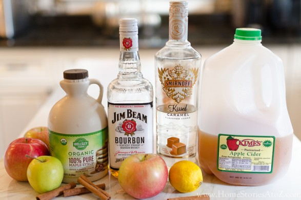 Caramel Apple Bourbon Cocktail insta-2