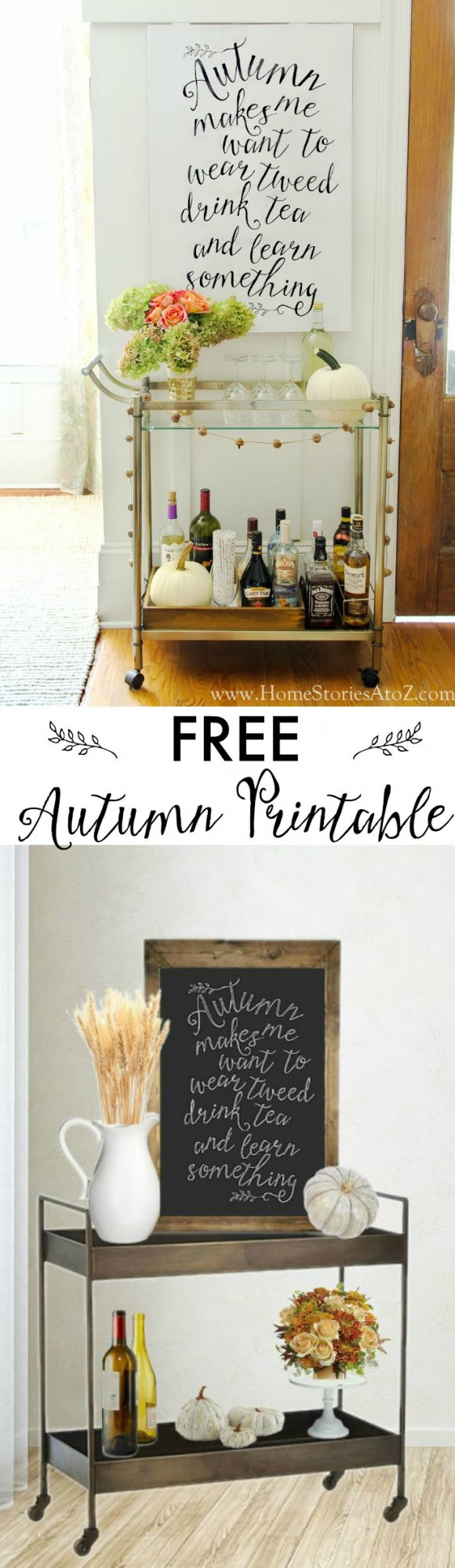 Free autumn fall printables