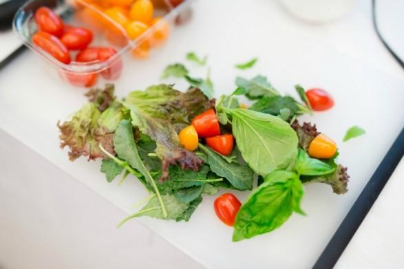 salad styling