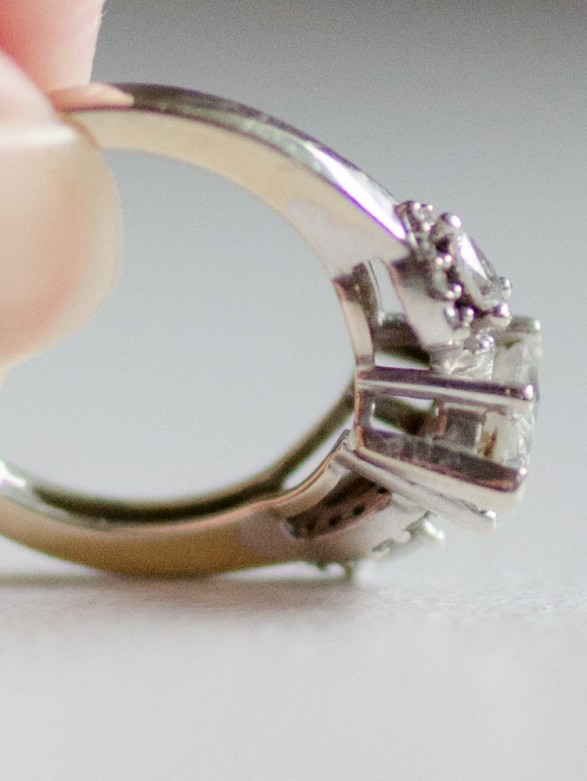 How to Clean a Diamond Ring at Home