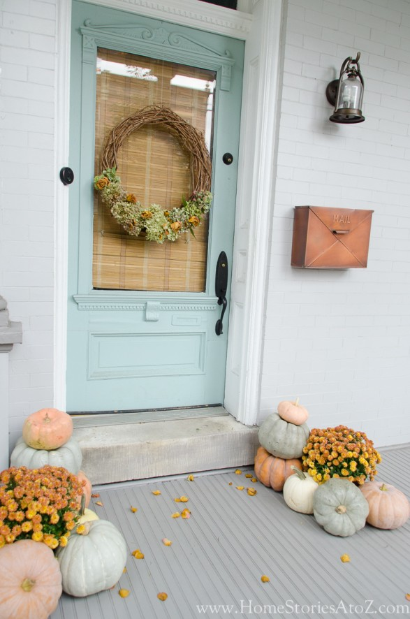 Farmhouse Fall Porch 2