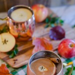 Ginger Caramel Apple Pie Moscow Mule