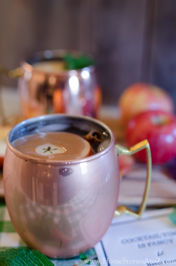 Ginger Caramel Apple Moscow Mule-7
