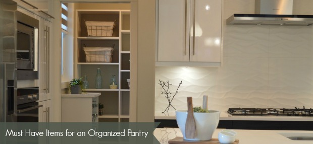 items needed for an organized pantry