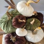 How to Make Velvet Pumpkins