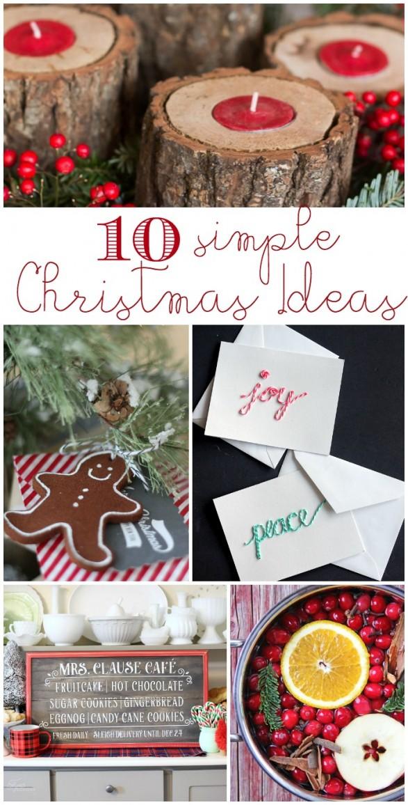10 simple christmas ideas