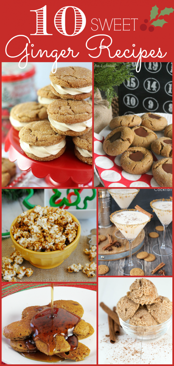 10 sweet ginger recipes to try
