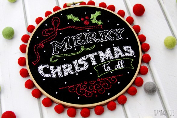 Christmas-Embroidery-Chalk-Art-Hoop