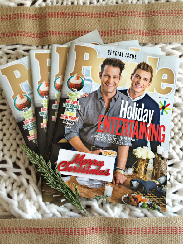 People Magazine Special Issue Holiday Entertaining