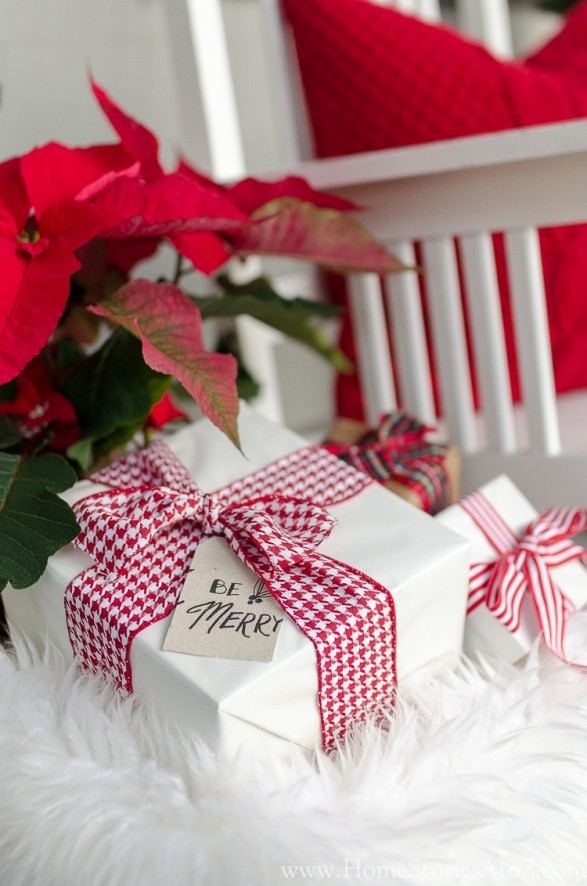 Traditional Christmas porch decorating ideas