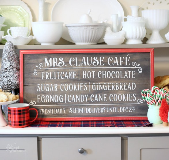 christmas-kitchen sign