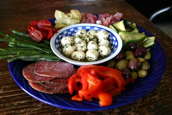 antipasti healthy snack idea