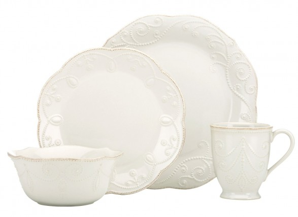 Lenox French Pearl Plate Setting