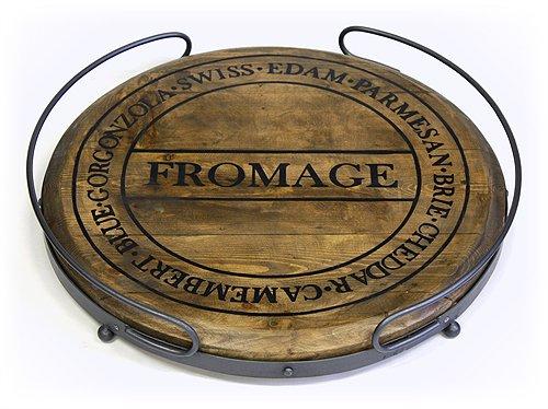 Round Vintage Tray