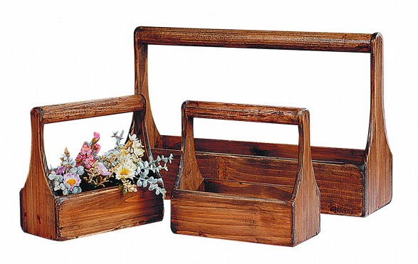 Vintage Wood Toolboxes