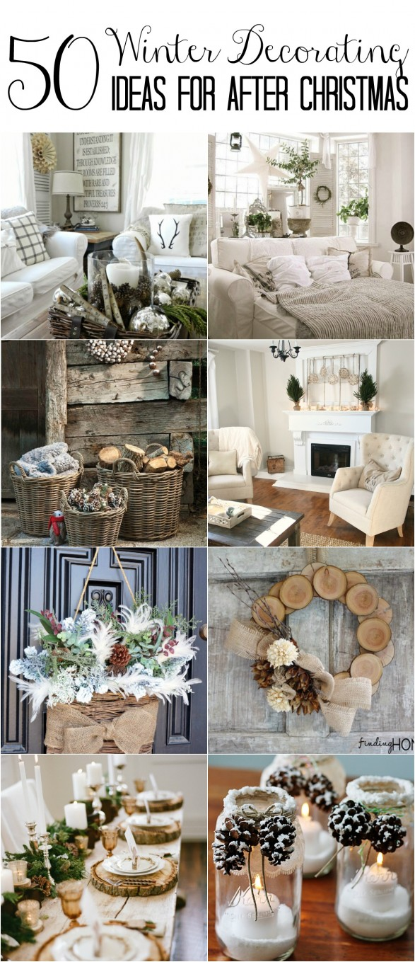 Redecoration Ideas Winter decorating ideas