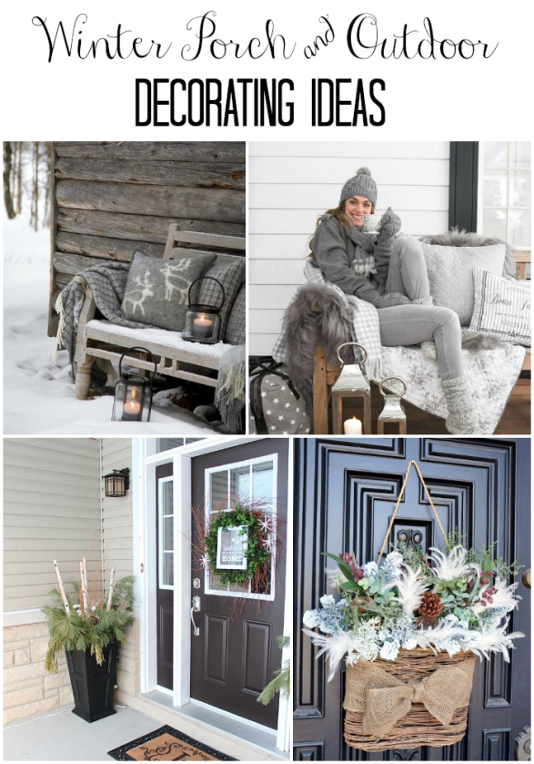 Winter Porch Decorating Ideas Part - 37: Home Stories A To Z