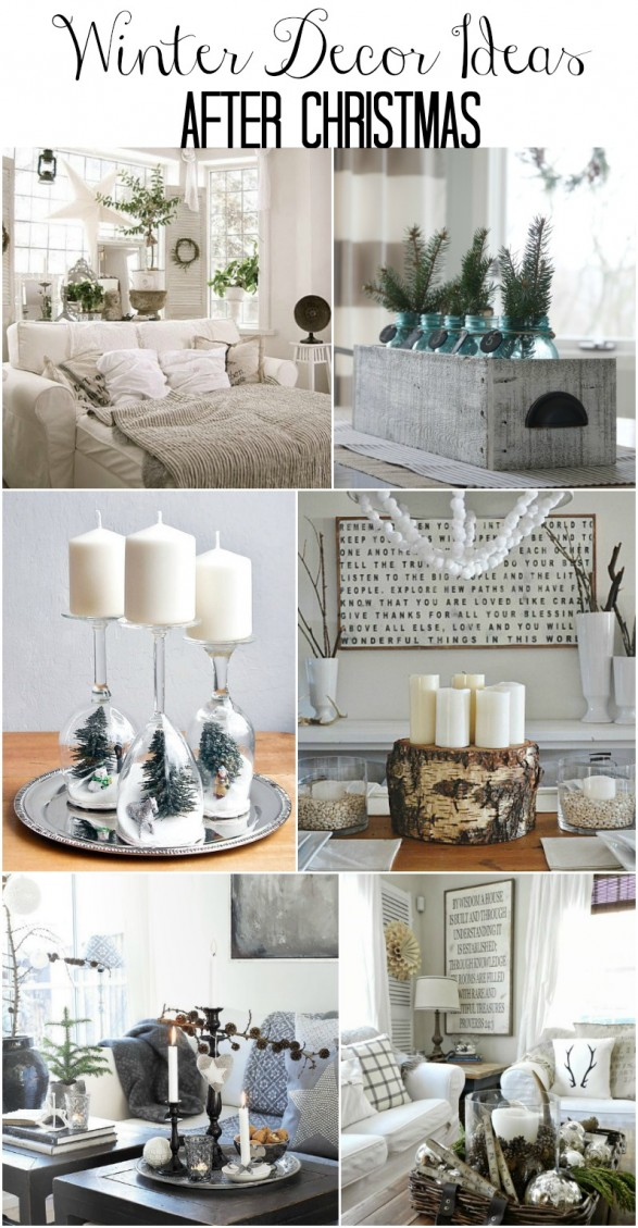 how to decorate your home after christmas winter tablescape decorating ideas 13650