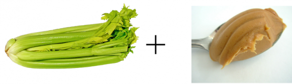 healthy snack ideas celery and peanut butter