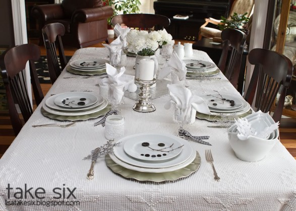 Snowman Winter Table Ideas Tablescape Decorating