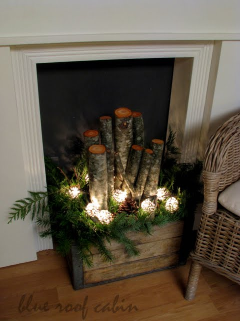 winter decorating idea