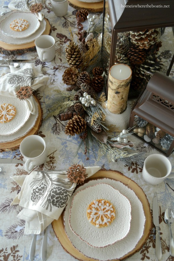 winter table ideas
