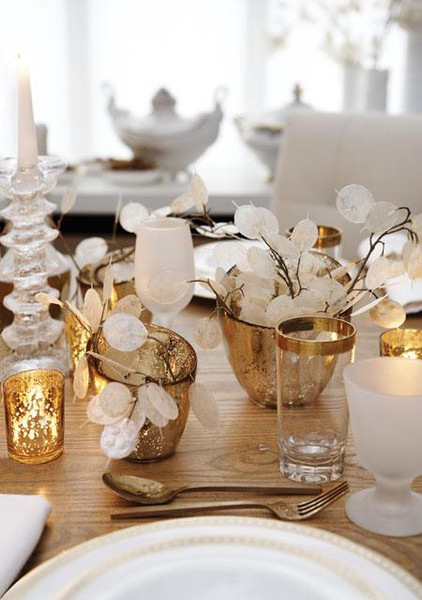 winter white table idea