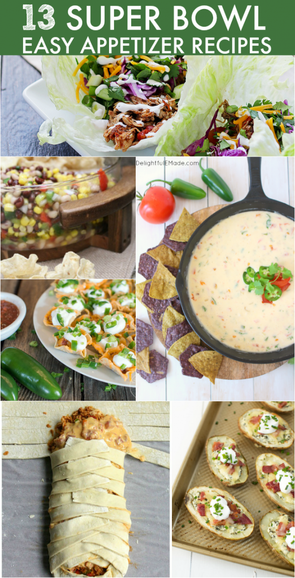Easy Super Bowl Appetizer Recipes