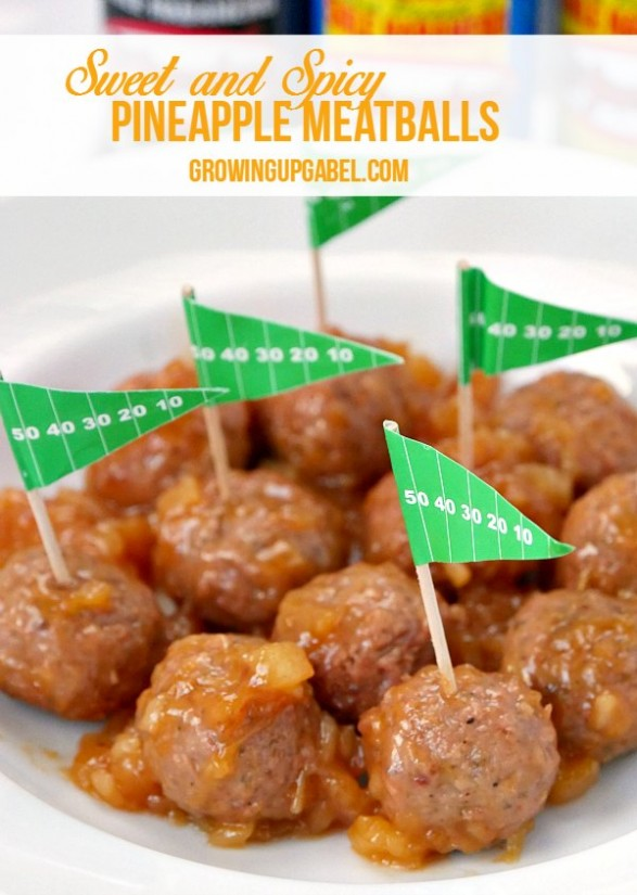 Meatballs With Peppers And Pineapple Recipe — Dishmaps