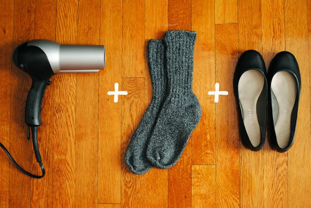 Shoe Stretching Hack