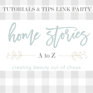 Tutorials and Tips Link Party button