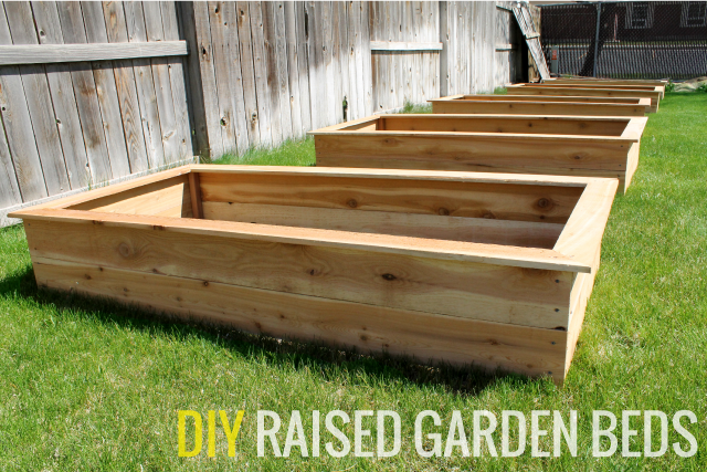 Affordable raised garden bed tutorial