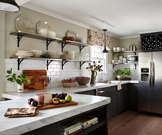 Tips For Open Shelving In The Kitchen: Trend Alert: 5 Kitchen Trends To Consider