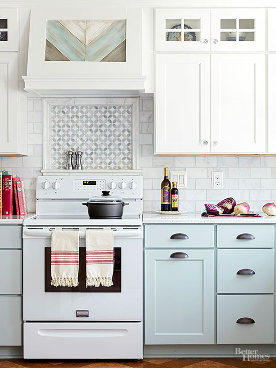 Pretty Handy Kitchen Image Source S Light Blue Cabinets
