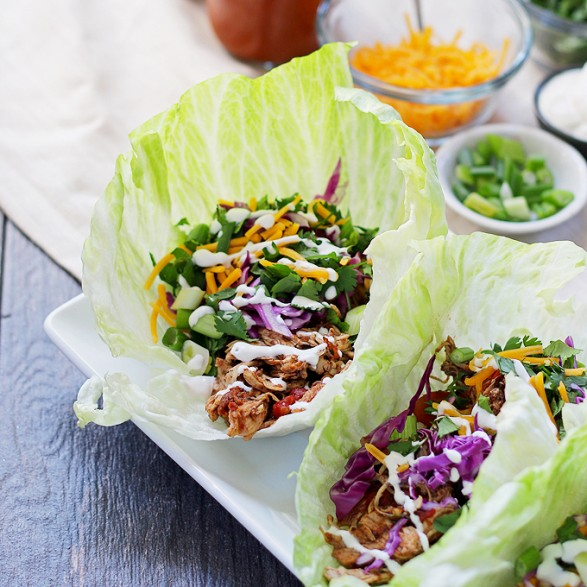 slow-cooker-chicken-taco-lettuce-wraps-8