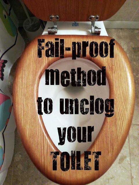 toilet uclogging hack