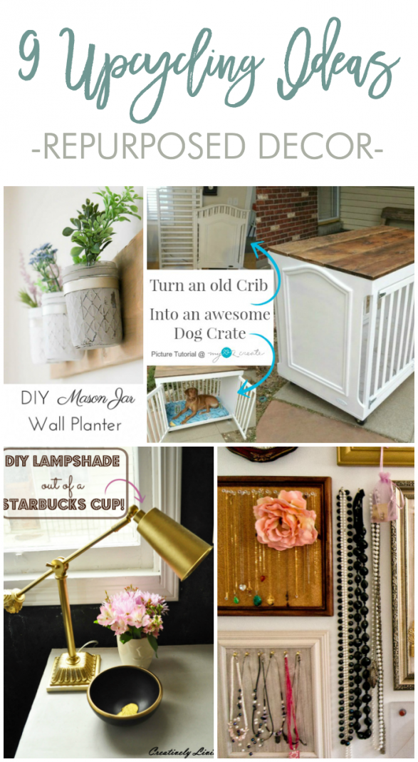 9 UPCYCLING IDEAS