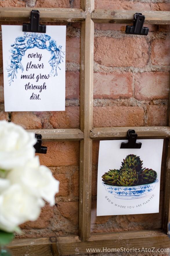 Free Spring Printable | Gardening Printable