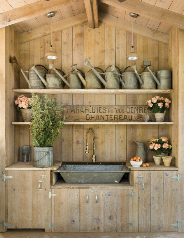 French Farmhouse Potting Shed