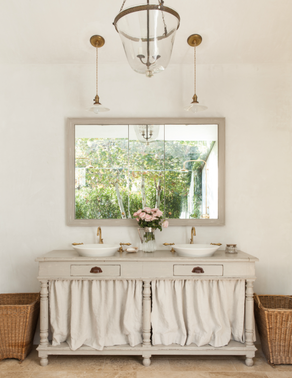 French farmhouse bathroom french country bathroom