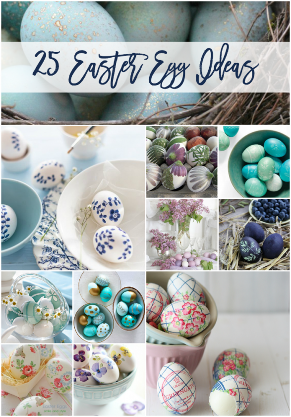 Gorgeous Easter egg ideas