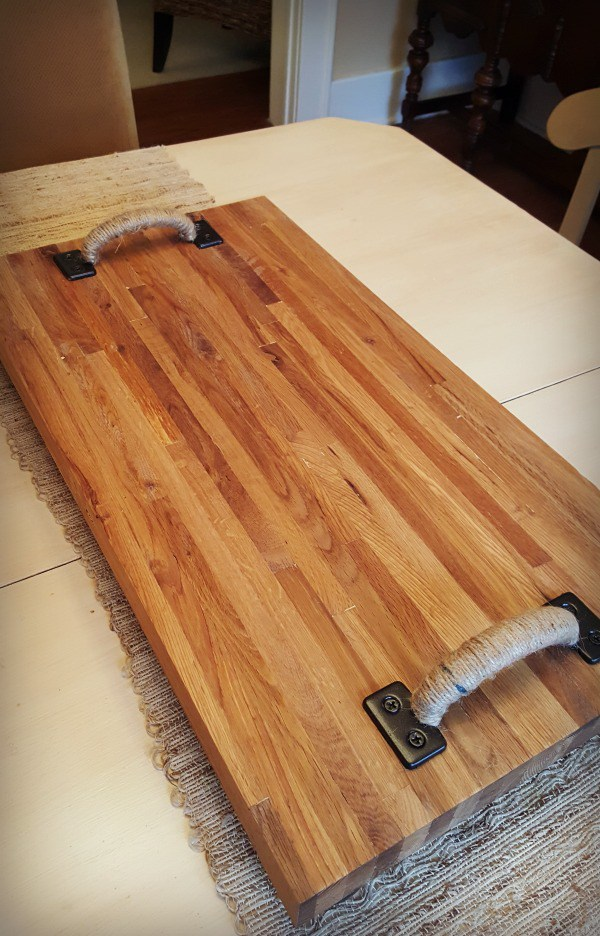 Scrap butcher block