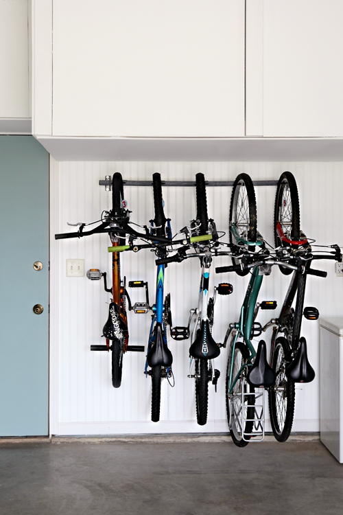 bike organization garage