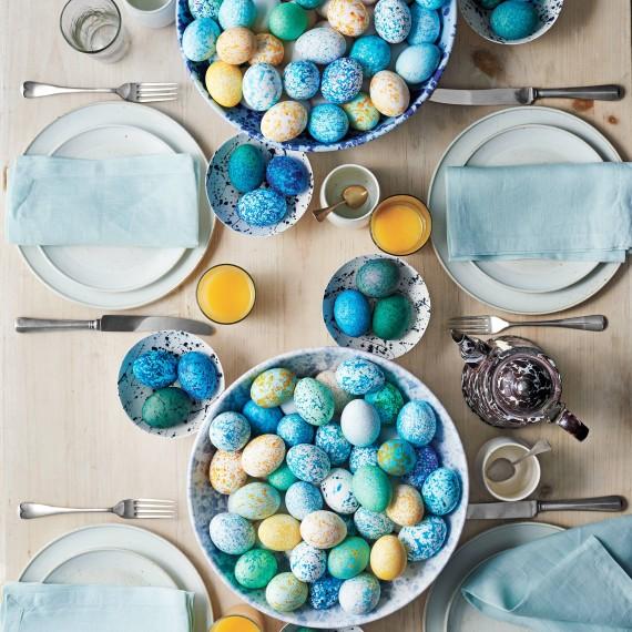 how to make splattered eggs